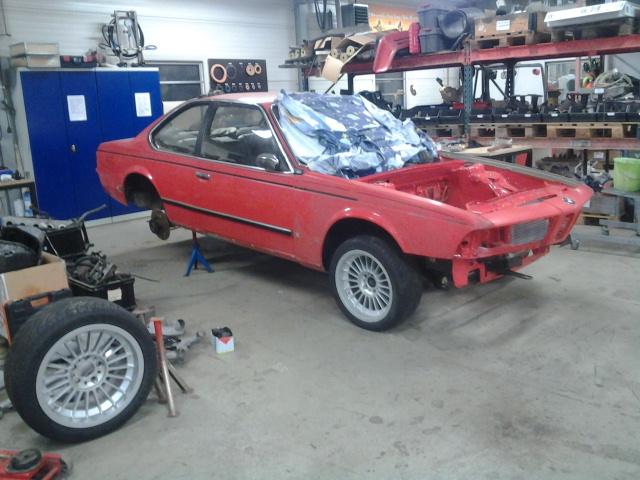 """633csi - BMW 633csi 1977 projekt och M535i 1986 """"sidoprojekt"""" besiktigad !! =) 1359056079"""