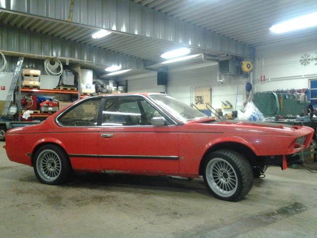 """633csi - BMW 633csi 1977 projekt och M535i 1986 """"sidoprojekt"""" besiktigad !! =) 1359315338"""