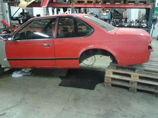 """633csi - BMW 633csi 1977 projekt och M535i 1986 """"sidoprojekt"""" besiktigad !! =) 1359315473"""