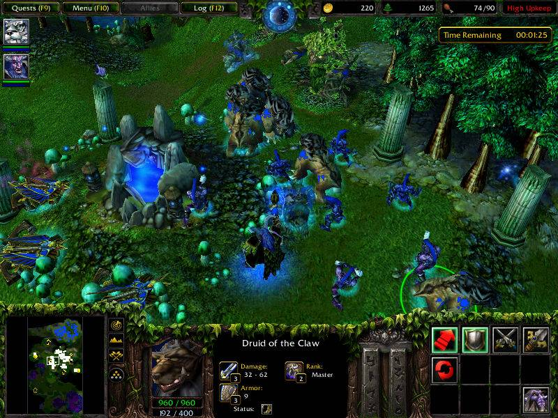 WarCraft III PC Full Español Mega + expansion frozen chrone 6e1fa2_WarCraft-3-CDGame-Capture-1_zps6aa46864