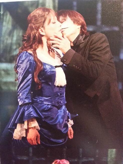"""Phantom: The Untold Story"" -- Susan Kay stage play in Japan Erik_Christine_Kiss1_zps7cd38759"