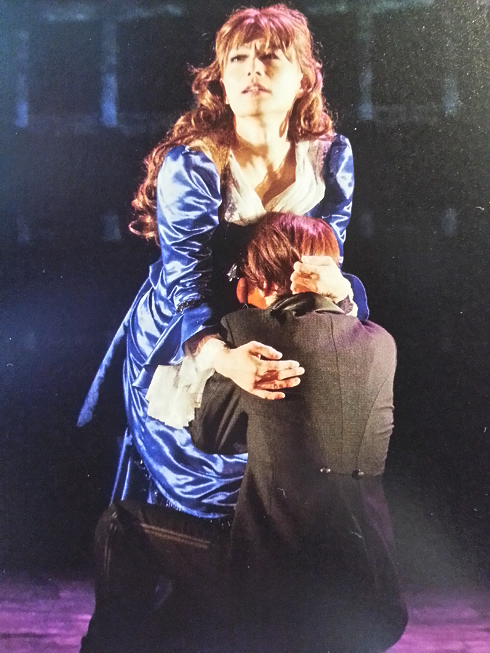 """Phantom: The Untold Story"" -- Susan Kay stage play in Japan Erik_Christine_Kiss2_zps3d6ba236"