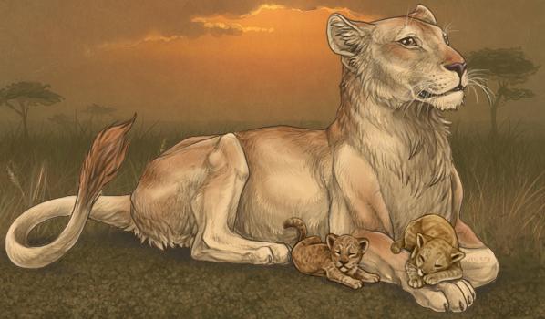 Así que, ¿te gustan los juegos de leones realistas? ¡Conoce Lioden! LionessCubs_zps3e1b414a