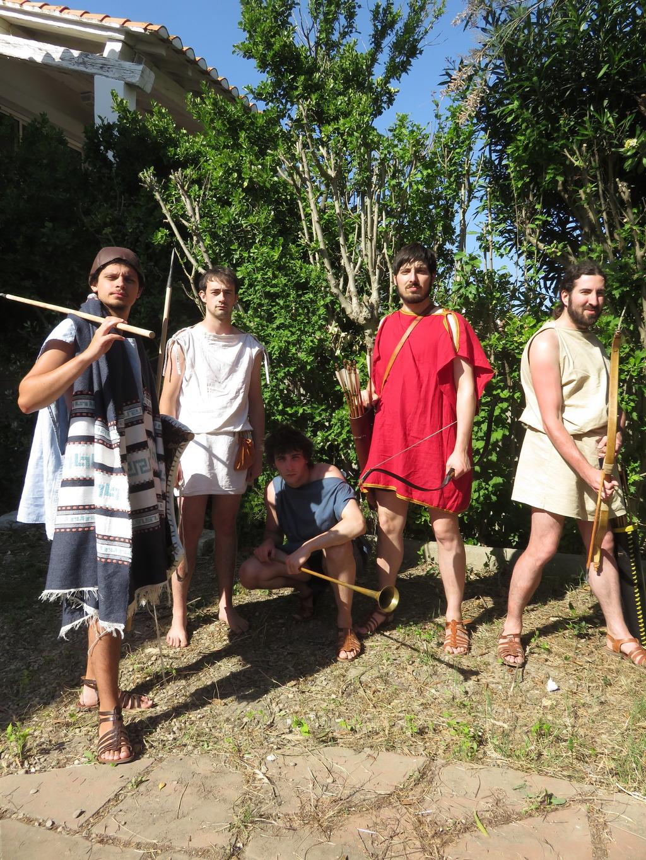 Les fantassins légers : Peltastes, akontistes, archers, frondeurs IMG_1038_zpsuc3o3uij