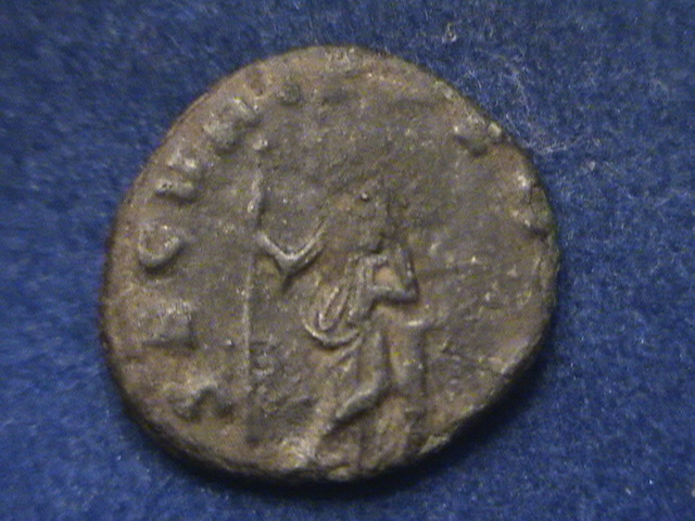 Antoniniano de Galieno. SECVRIT PERPET. Securitas estante a izq. Ceca Roma. DSC01191_zpsetcrx4a0