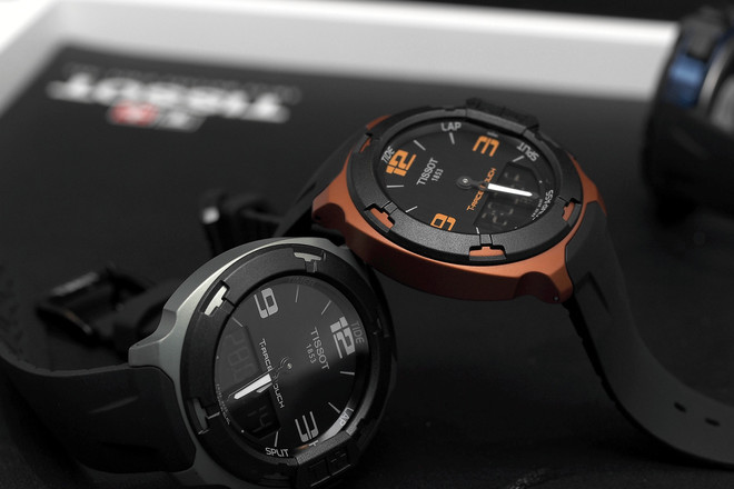 Tissot's new T-Race Aluminum and T-Touch Expert Solar Tissot-T-Race-Aluminum-green-orange-thumb-660x440-22333_zps632a7a2e