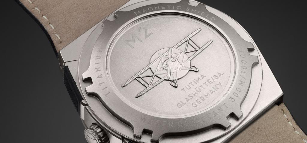 Tutima M2 Chronograph and Pioneer Tutima_6450_01_and_02_Rueck_zpsf663f770