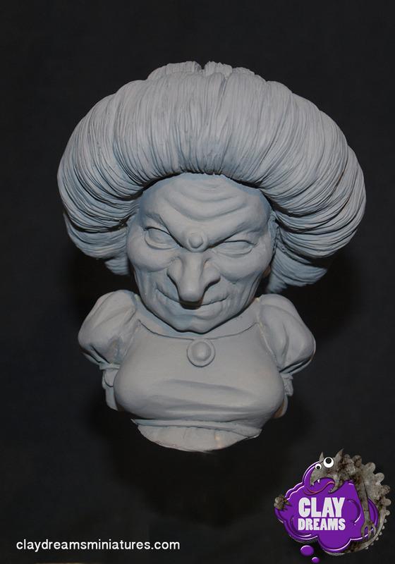 Clay Dreams Miniatures Novedades Yubaba1_zps3v0kcywc