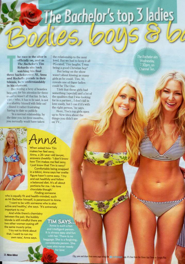 Tim and Anna Robards - Bachelor Australia - Season 1 - Fan Forum - #2 - Page 6 NewIdea1_zpsd5fcad78