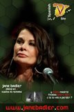 Jane Badler en Madrid 27/01/2011.