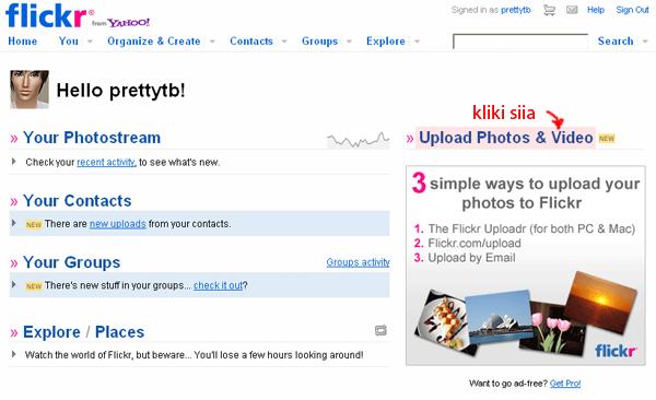 Kuidas kasutada flickr-i. ScreenShot126