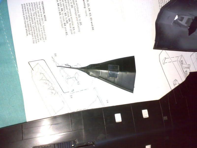SR-71B - 1/48 - Testors 03142010710