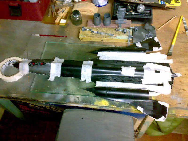 SR-71B - 1/48 - Testors 03182010724