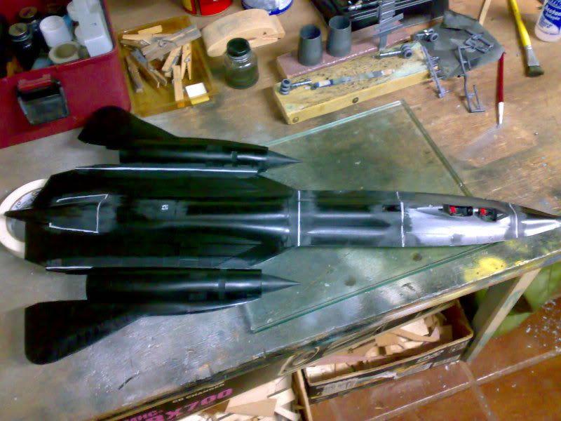 SR-71B - 1/48 - Testors 03192010727