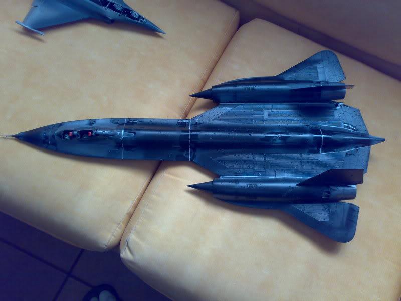 SR-71B - 1/48 - Testors 06062010901