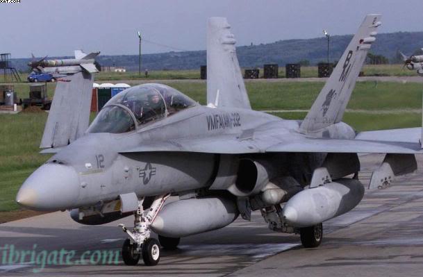 الطائرة F18 F-18-hornetinhungary
