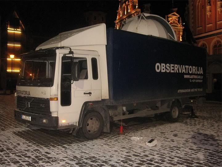 observatoire mobile Mobile-observatory
