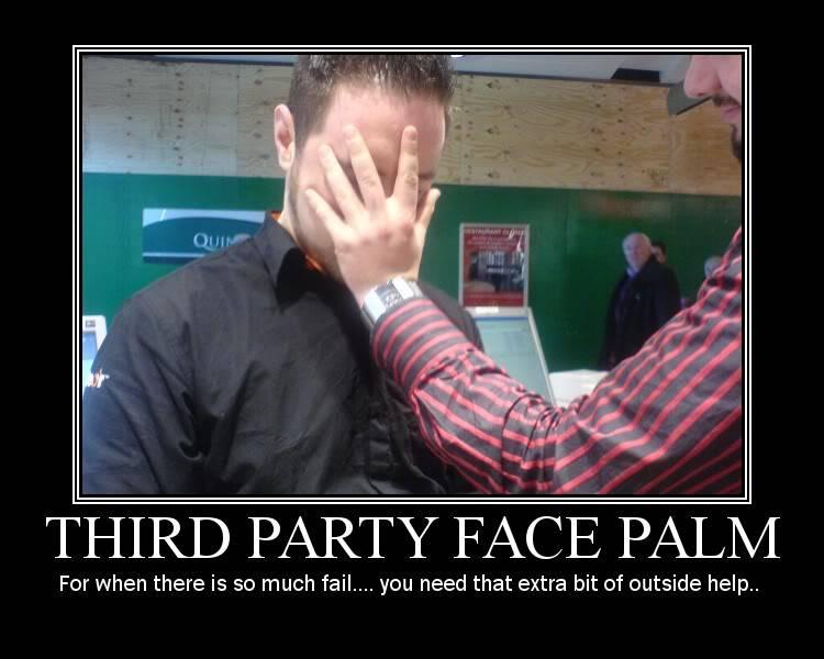 ¿Cuántos desarrolladores PHP hay por el foro? Third-party-facepalm