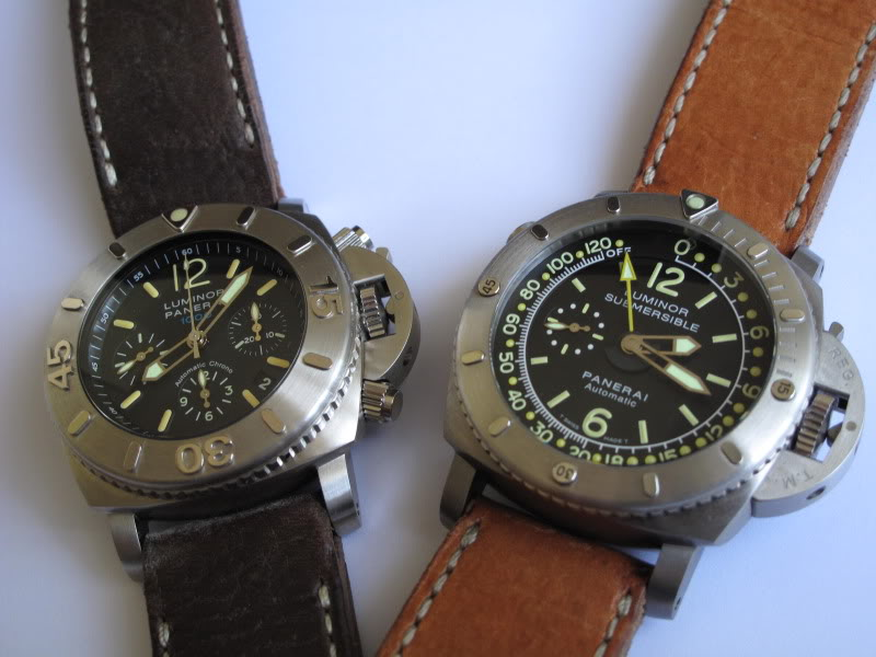 Comparo Pam 187 VS Pam 193 E1