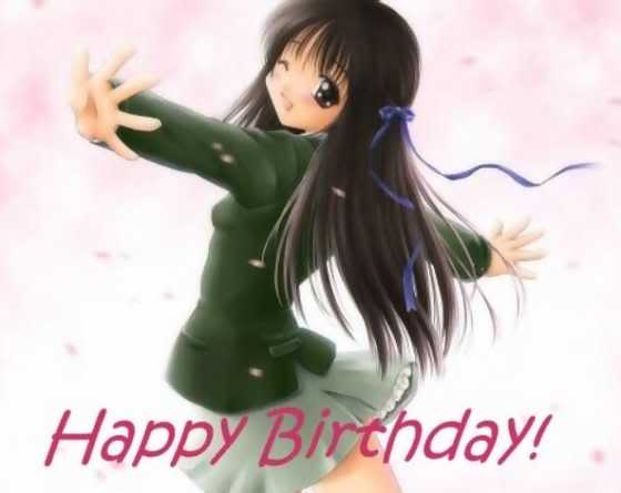 Feliz Cumpleaños Kissu hermosa!!!! ~ BdayaAnimeGirlSkirtUp