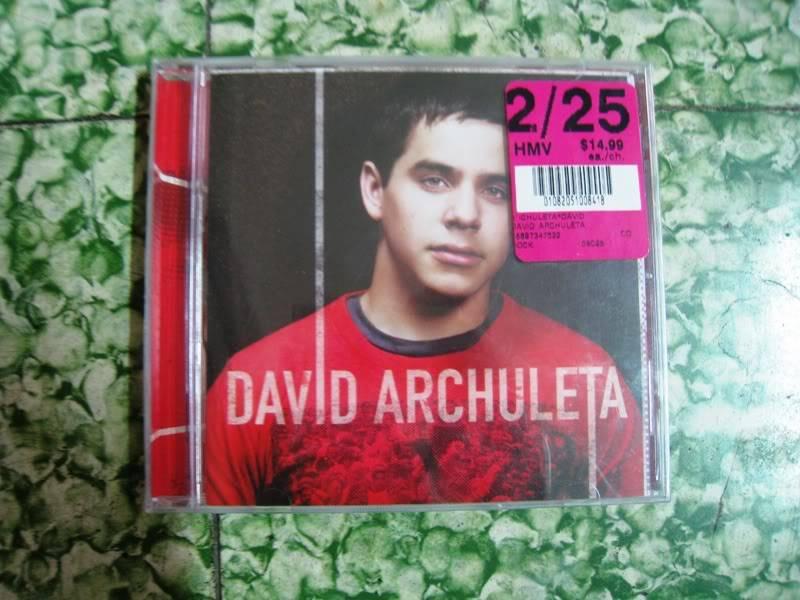 [HCM] Cần thanh lý 1 đĩa David Archuleta vol.1 SHop001