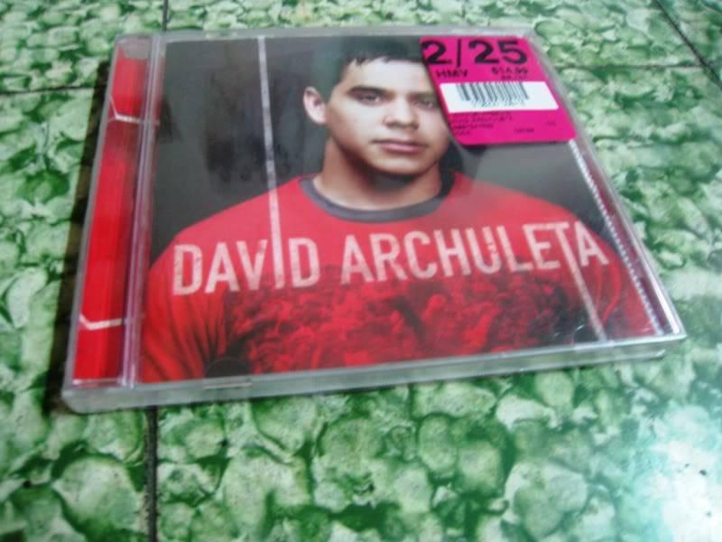 [HCM] Cần thanh lý 1 đĩa David Archuleta vol.1 SHop002