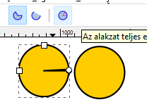 How to send an image to the back in inkscape? Ellipse