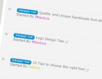 Topics tagged under fridaytip on The forum of the forums Frudaay