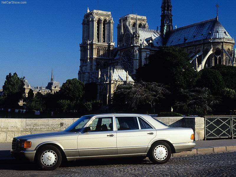 (W126): Inúmeras cores Mercedes-Benz-S-Class_W126_2_zps153edbc0
