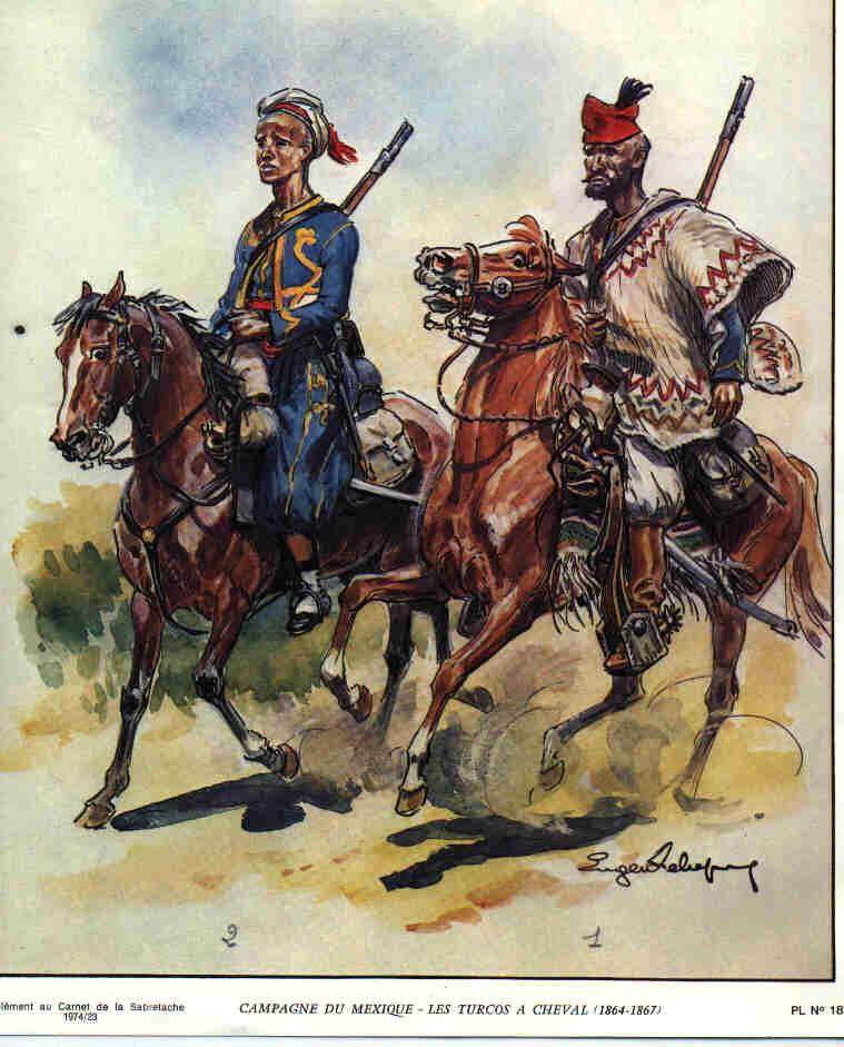 Turcos à cheval (Mexique 1864-1867) Turcosacheval_zps1c40a8c9