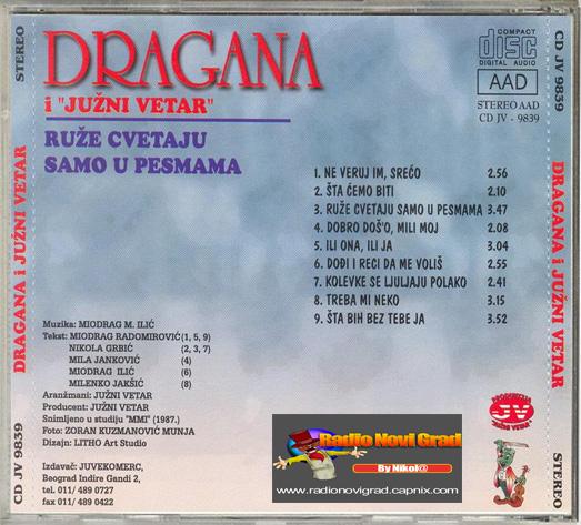 Albumi Narodne Muzike U 256kbps - 320kbps  - Page 9 DraganaMirkovic1987-RuzeCvetajuSamoUPesmama-ZS_zps76b7838a