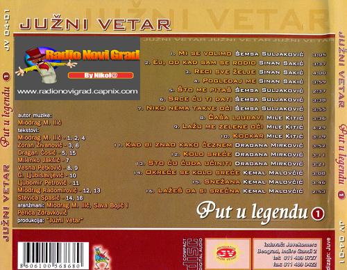 Albumi Narodne Muzike U 256kbps - 320kbps  - Page 6 JuzniVetar2004-PutulegenduVol1zadnja