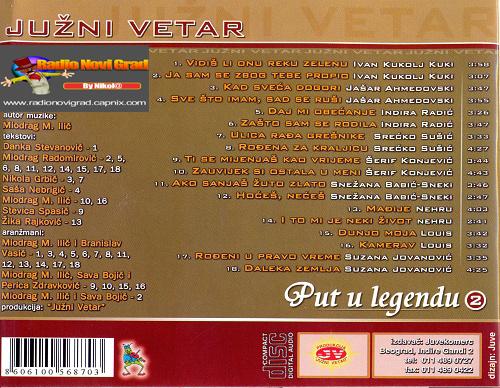 Albumi Narodne Muzike U 256kbps - 320kbps  - Page 6 JuzniVetar2004-PutulegenduVol2zadnja