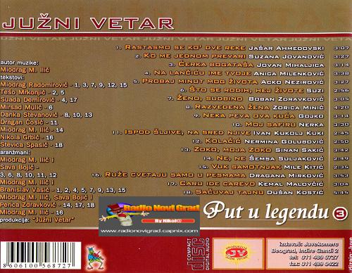 Albumi Narodne Muzike U 256kbps - 320kbps  - Page 6 JuzniVetar2004-PutulegenduVol3zadnja