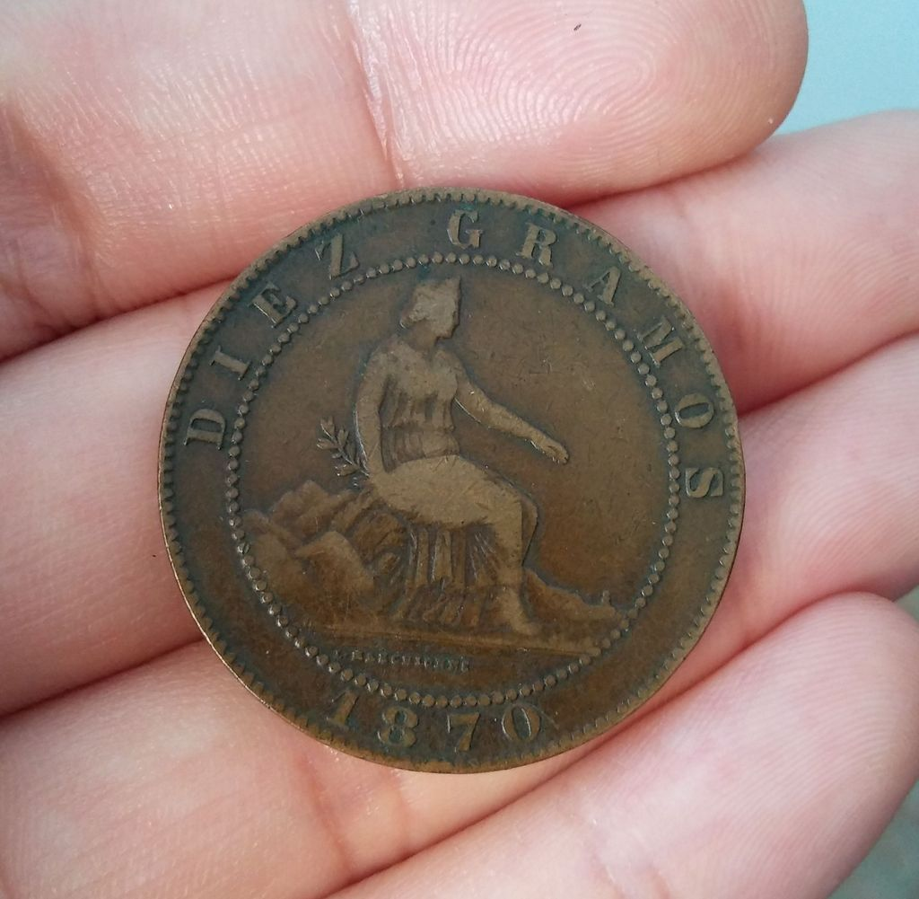 10 centimos 1870. Gobierno Provisional 20170328_184524_zps9dzg5mcj