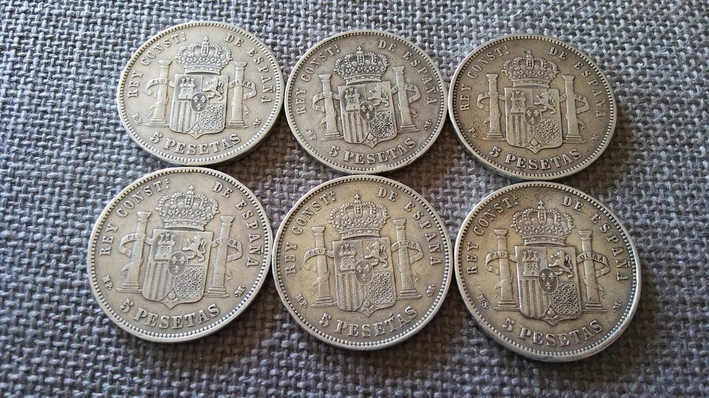 Colección 5 pesetas plata 8_zps4qfrhqge