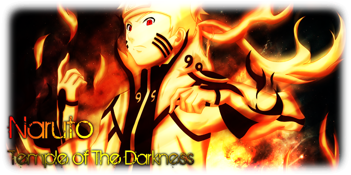 Naruto Temple of The Darkness