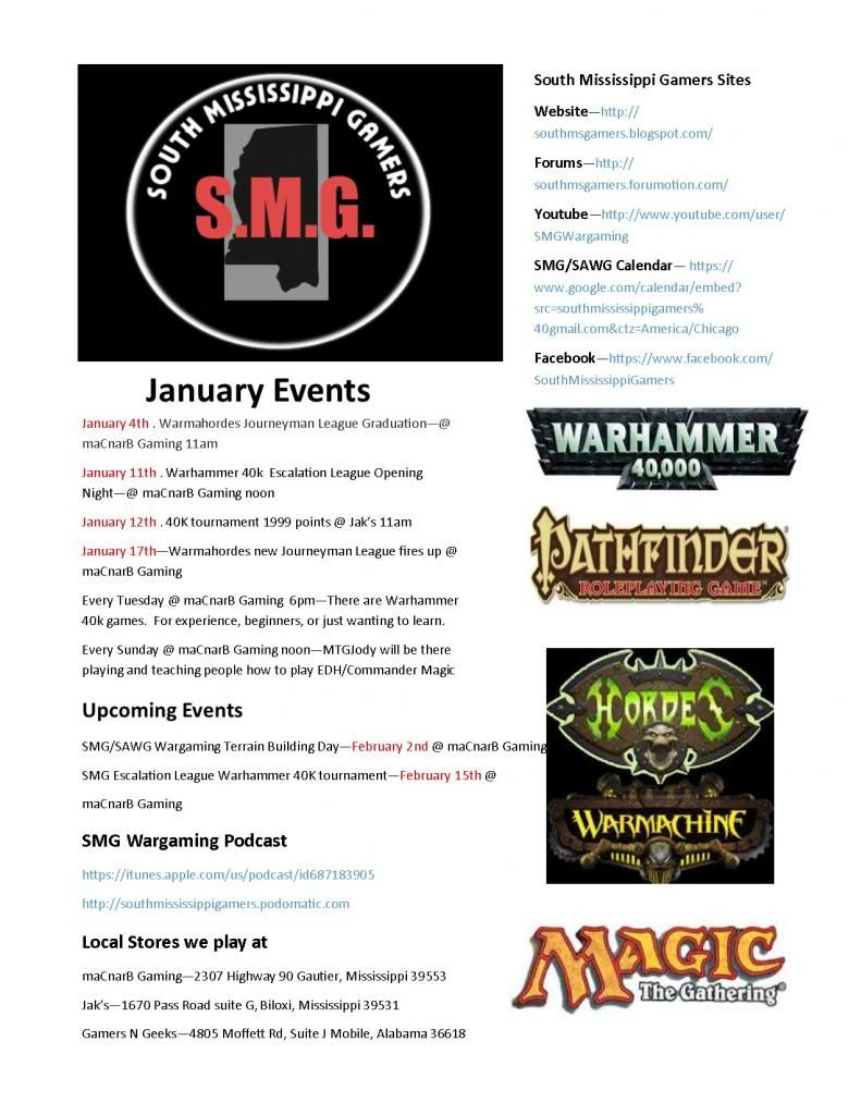 SMG Monthly Flyer for January 2014 Events SMGFlyersJanuary_zpsd594de73