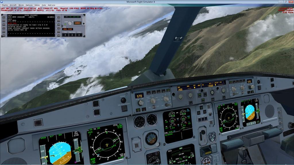 SBGR/SKBO - Online pela IVAO Flydal_826_zps939f9b8b