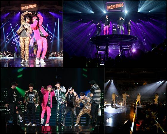 """[121209] B1A4 atteint le titre, """"Prochaine génération d'idole"""" avec leur premier concert D121208_003"""