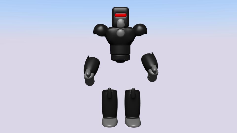 Arte em 3D do Robô de Ação Ar_zps1551b579