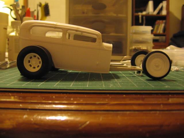 '32 Ford Sharkmouth Sedan MOCKUP313