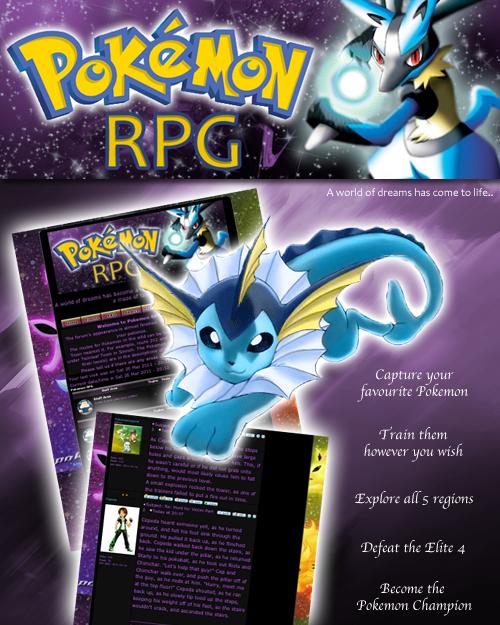 Pokemon RPG PRPGPoster