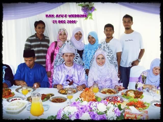 Majlis perkahwinan Ayu 16