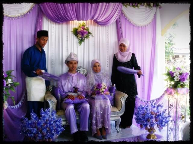 Majlis perkahwinan Ayu 8-1