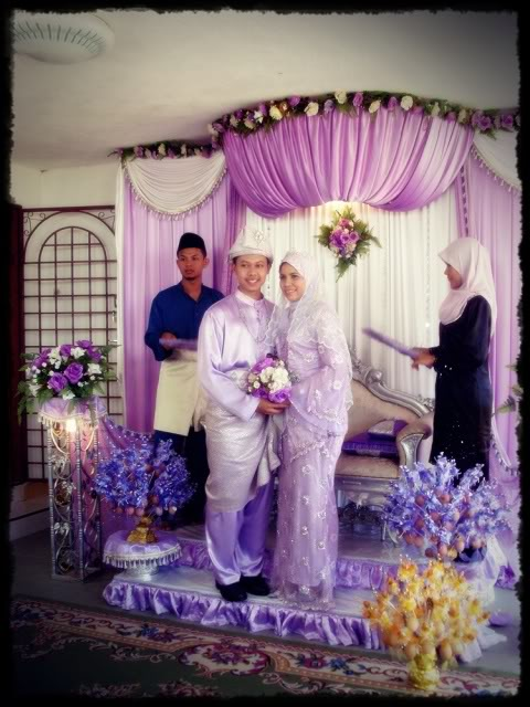 Majlis perkahwinan Ayu 9-1