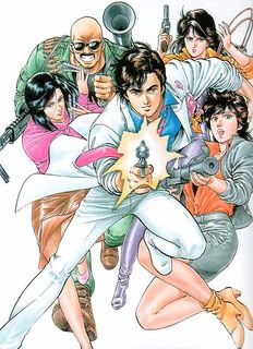 Le style du manga CityHunter