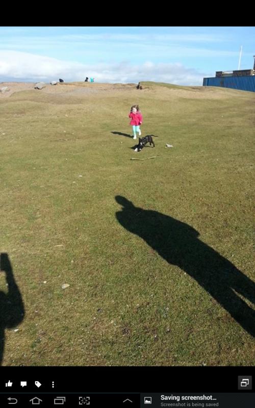 boycie walking at the beach at 4.5months old Screenshot_2014-02-24-20-48-57