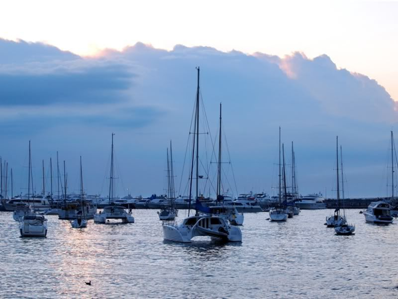 Nuages,bateaux... P1243400
