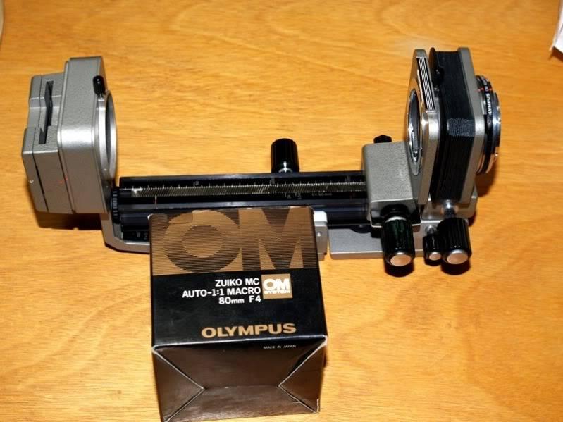 Trouvè!!Olympus OM 80mm pour soufflet!!(Ajoute) PC064129